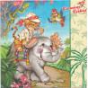 Serwetka ze słonikiem
