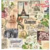 Serwetka VINTAGE COLLAGE PARIS