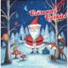Serwetka  Mikołaj w lesie
