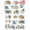 Papier ryżowy ITD R1343