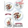 Przekładka do bombki TAG0104