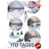 Przekładka do bombki TAG0143
