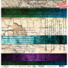 "Papier do scrapbookingu ""Paradise Lost"" 3/4 - Rainbow of dreams - 30x30"