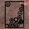maska/szablon Steampunk Stories zębatki i trybiki 36