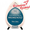 Tusz do stempli Memento Dew drops Teal Zeal     MD602