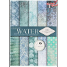 Papier do scrapbookingu SCRAP-028 ''Water""