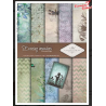 Papier do scrapbookingu SCRAP-012 ''Evening meadow''