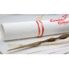 Papier czerpany biały tłoczony  A4, 150 gsm
