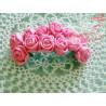Kwiaty z pianki różowe