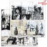 Papier do scrapbookingu ABstudio & S.Schutze - Urban Landscapes no.2-arkusz 12'x12'