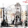 Papier do scrapbookingu ABstudio & S.Schutze - Urban Landscapes no.1-arkusz 12'x12'