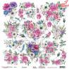 """Papier do scrapbookingu """"Enchanted flowers"""" 11/12 - """"Blossom"""" - 30x30"""