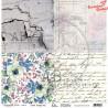 """Papier do scrapbookingu """"Enchanted flowers"""" 15/16 -  30x30"""