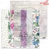 """Papier do scrapbookingu """"Enchanted flowers"""" 9/10 -  30x30"""