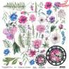 """Papier do scrapbookingu """"Enchanted flowers"""" 7/8 -  30x30"""