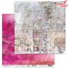 """Papier do scrapbookingu """"Enchanted flowers"""" 5/6 -  30x30"""