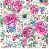 """Papier do scrapbookingu """"Enchanted flowers"""" 1/2 -  30x30"""