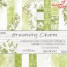 GREENERY CHARM - zestaw papierów 15,25x15,25cm