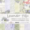 LAVENDER HILLS - zestaw papierów 30,5x30,5cm