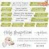 HOLY BAPTISM - NAPISY - DIE - CUTS