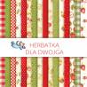 Zestaw papierów 15x15- Herbatka dla Dwojga