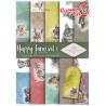 "Papier do scrapbookingu SCRAP-037 ''Happy farm"""