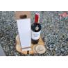 Pudełko na alkohol wino wódka szare