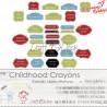 CHILDHOOD CRAYONS - CYTATY W RAMKACH