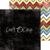 CHILDHOOD CRAYONS - zestaw papierów 20,3x20,3cm