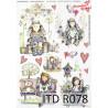 Papier ryżowy ITD R0078