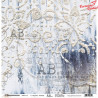 "Papier do scrapbookingu ""Rustical journey""- sheet 3- 30x30"