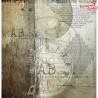 "Papier do scrapbookingu ""Behind closed doors""- sheet 1 - 30x30"