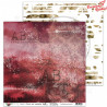 "Papier do scrapbookingu ""Diary""- sheet 8 - 30x30"