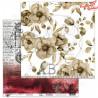 "Papier do scrapbookingu ""Diary""- sheet 3 - 30x30"
