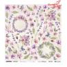 Meadow Impressions Flowers - arkusz do wycinania