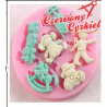 Foremka silikonowa - zabawki/040