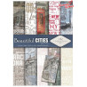 Papier do scrapbookingu SCRAP-044 ''Beautiful Cities''