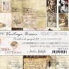 VINTAGE BISOU - zestaw kart do Project Life/pocałunek sprzed lat