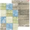 CAROLS IN THE SNOW - zestaw papierów 20,3x30,5cm /kolędowanie w śniegu