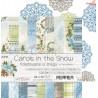 CAROLS IN THE SNOW - zestaw papierów 15,25x15,25cm /kolędowanie w śniegu