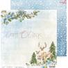 CAROLS IN THE SNOW - zestaw papierów 30,5x30,5cm  /kolędowanie w śniegu