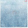 CAROLS IN THE SNOW - 01 - dwustronny papier 30,5x30,5cm /kolędowanie w śniegu