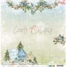 CAROLS IN THE SNOW - 03 - dwustronny papier 30,5x30,5cm /kolędowanie w śniegu