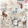 "Papier do scrapbookingu ""Secret wood""- sheet 4 - 30x30"