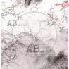 "Papier do scrapbookingu ""Secret wood""- sheet 3 - 30x30"