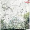 "Papier do scrapbookingu ""Secret wood""- sheet 2 - 30x30"