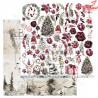 """Papier do scrapbookingu """"Breeze of the forest""""- sheet 6 - 30x30"""