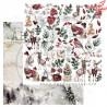 """Papier do scrapbookingu """"Breeze of the forest""""- sheet 3 - 30x30"""