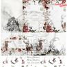 """Papier do scrapbookingu """"Breeze of the forest""""- sheet 5 - 30x30"""