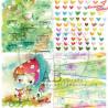 "Papier do scrapbookingu ""Magic whispers of fairytales""- sheet 3 - 30x30"